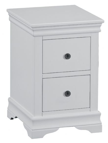 Stratford Grey Painted Small Bedside Cabinet